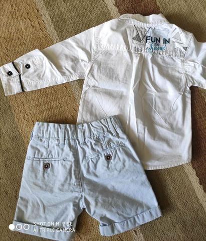 Camisa Tigor baby e short poim - Foto 2