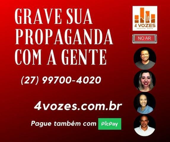 Locutor / Gravação / Propaganda / Vinheta (melhor custo-benefício) - Foto 3