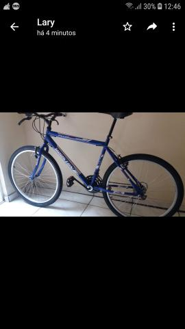Vendo bicicleta Azul - Foto 4