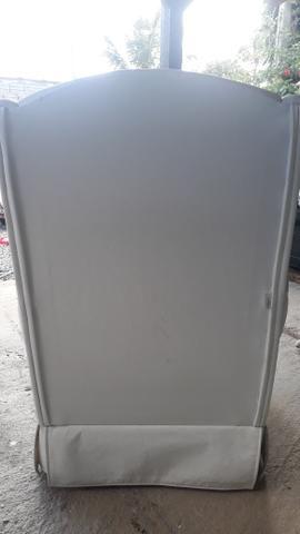 Poltrona de amamentação branca - Foto 2