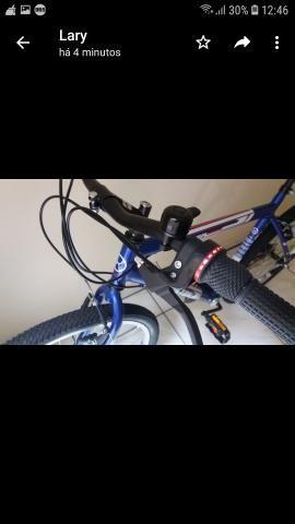 Vendo bicicleta Azul - Foto 6