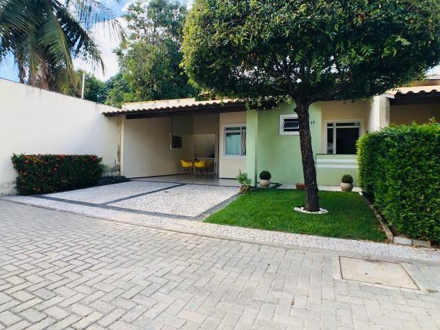 CA0923 - Casa plana com 3 suítes, dependência e lazer completo em condomínio fechado - Foto 3