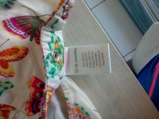 Vestido da Minnie e vestido de borboleta - Foto 4