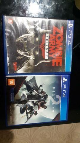 Vendo dois jogos de PS4