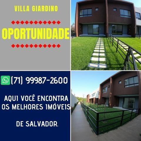 Incomparável Casa com 3 quartos e suíte em 129m² Villa Giardino Patamares