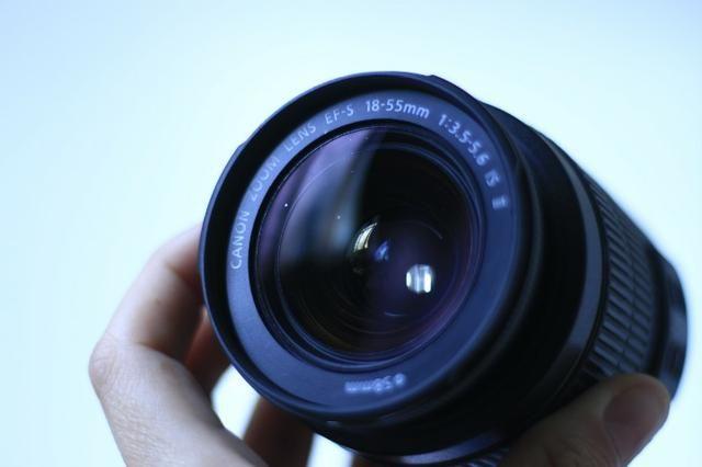 Lente 18-55mm f/3.5-5.6 Canon