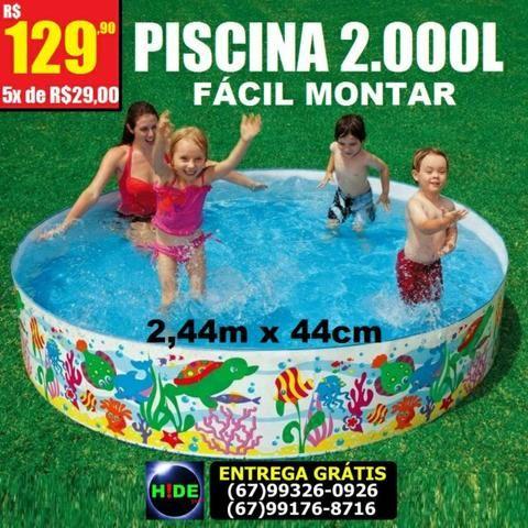 Piscina Intex 2000L (entrega grátis)