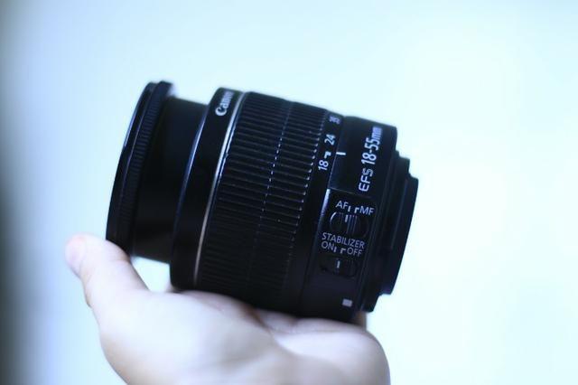 Lente 18-55mm f/3.5-5.6 Canon - Foto 6