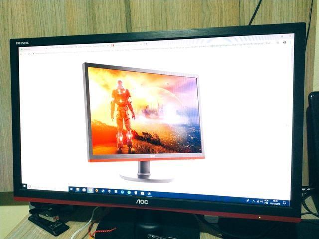 "Monitor AOC Gamer LED 21,5"" 1ms NOVO"