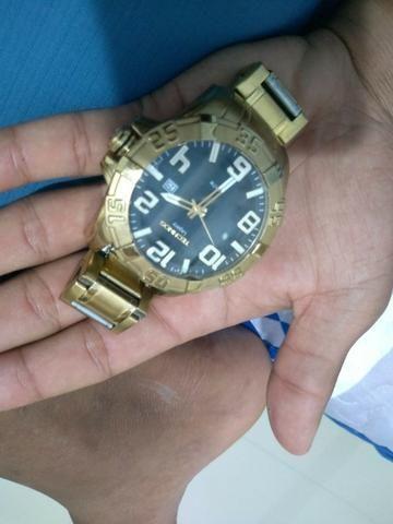 63f9bf12cd95a Relógio technos dourado - Bijouterias, relógios e acessórios ...