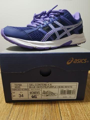5038d38242 Vendo tênis feminino Asics 34 (modelo gel-contend 4) - Esportes e ...