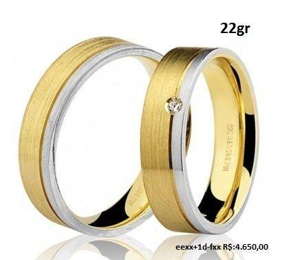 Aliança de casamento, em ouro 18k, em até 12x no Cartão Premium!! - Foto 5