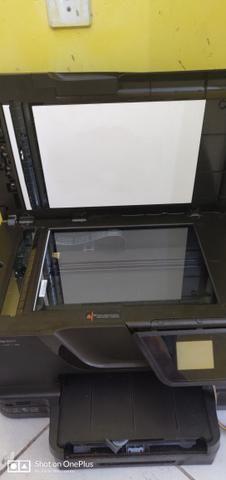 Hp 8600 pro com bulk de tintas instalado