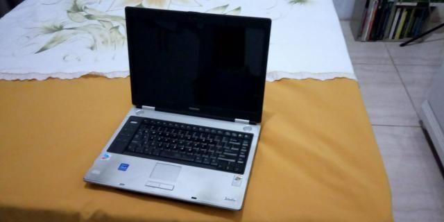 Notebook Toshiba PSM40U. Piracicaba. Aceito cartão
