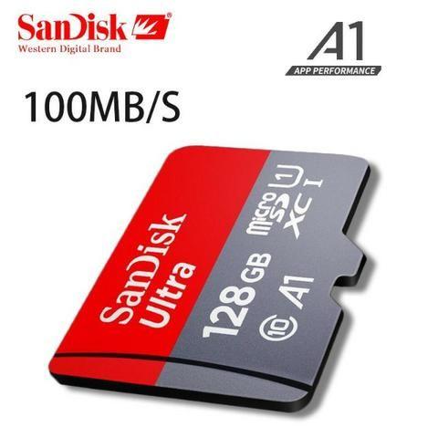 Cartão Micro Sdxc 128gb Ultra Sd Sandisk Classe 10