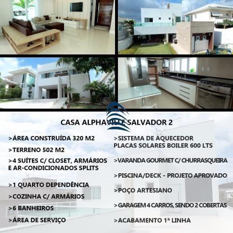 Casa à venda com 4 dormitórios em Alphaville ii, Salvador cod:AD4566G - Foto 6