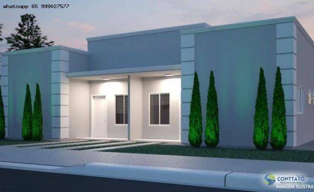 Casa em Condomínio para Venda em Cuiabá, Osmar Cabral, 2 dormitórios, 1 suíte, 1 banheiro, - Foto 8