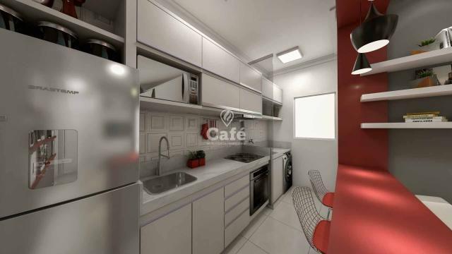 Apartamento de 1 dormitório com garagem no Centro de Santa Maria - Foto 5