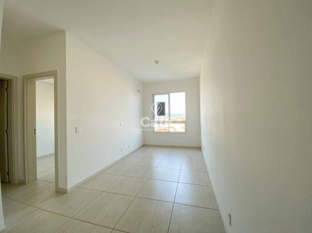 Apartamento de 1 dormitório com garagem em Camobi - Foto 3