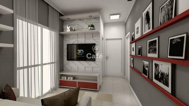 Apartamento de 1 dormitório com garagem no Centro de Santa Maria - Foto 6