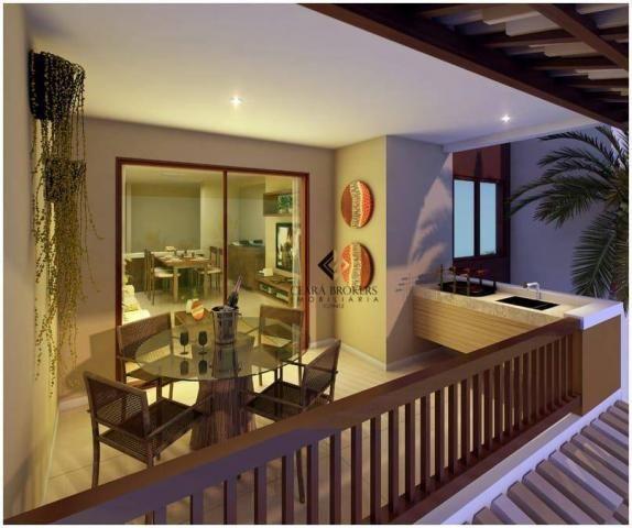 Apartamento com 76m² projetado e mobiliado no Porto das Dunas com 3 quartos sendo 2 suítes - Foto 7
