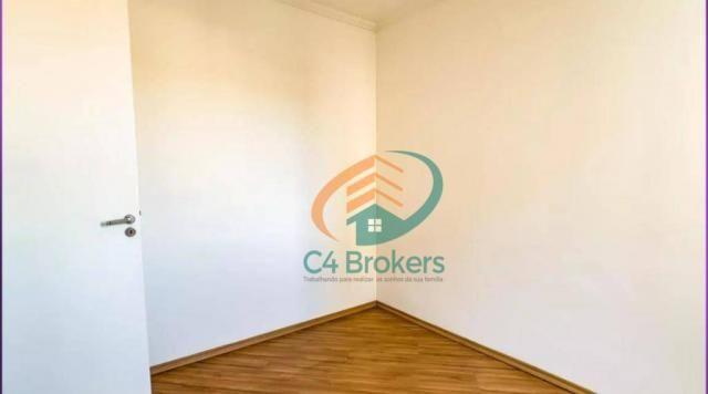 Apartamento com 2 dormitórios para alugar, 45 m² por R$ 1.547,00/mês - Ponte Grande - Guar - Foto 8