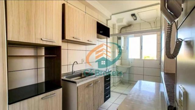 Apartamento com 2 dormitórios para alugar, 45 m² por R$ 1.547,00/mês - Ponte Grande - Guar - Foto 4