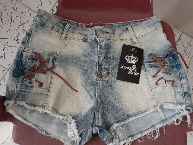 Lote de Jeans com 34 Peças todas novos com intiquetas $650,00 Reais.  - Foto 4