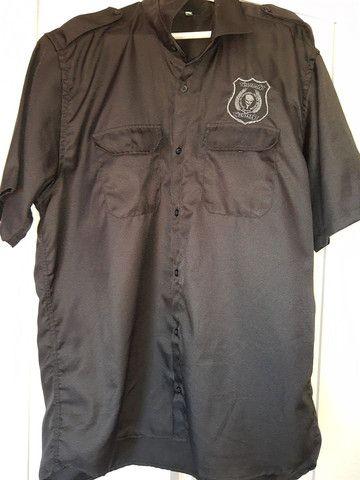 Colete + camisa segurança privada  - Foto 2