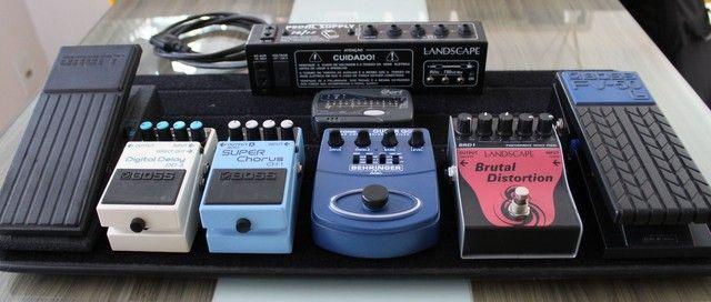 Kit pedaleira para guitarra (diversos itens) - Foto 4