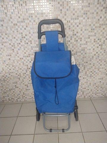 Exclusivo carrinho térmico com cadeira. - Foto 4
