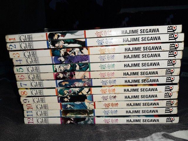 Coleção completa do mangá Ga-rei - Foto 3