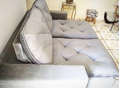 Sofá novo Inclinável e retrátil - Foto 3