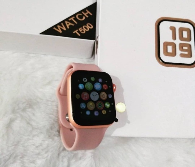 Smartwatch Relogio Iwo Max T500 Android Samsung Ios iPhone - Foto 3