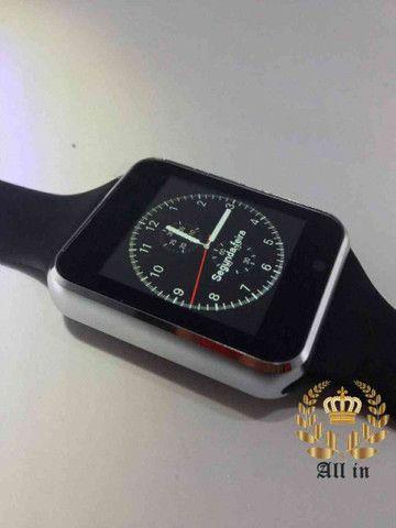 Smartwatch A1: Relógio inteligente+ FRETE GRÁTIS - Foto 2