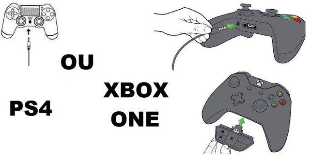 Fone Headset Gamer Microfone Xbox One Pc Playstation 4 Mobile Novo Garantia - Foto 6
