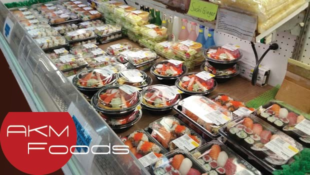 Aumente os lucros de seu restaurante - Coloque sushi no seu Buffet - Sushi no Atacado