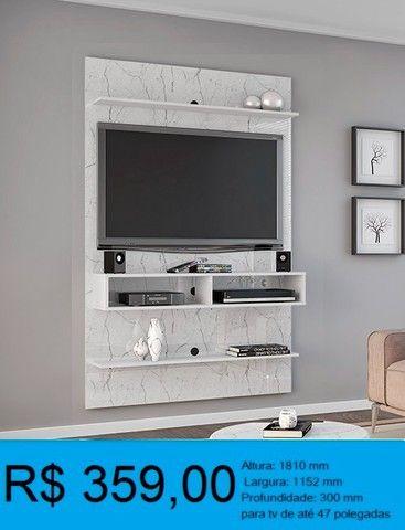 painel de tv madeira rustica -compre pelo whatssap e pague na entrega! - Foto 3
