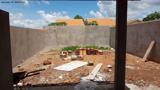 Casa para Venda em Várzea Grande, Novo Mundo, 2 dormitórios, 1 banheiro, 2 vagas - Foto 10