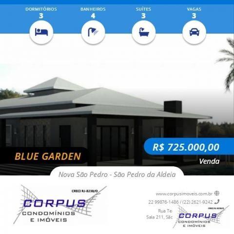 CASA MARAVILHOSA EM CONDOMÍNIO DE ALTO PADRÃO BLUE GARDEN