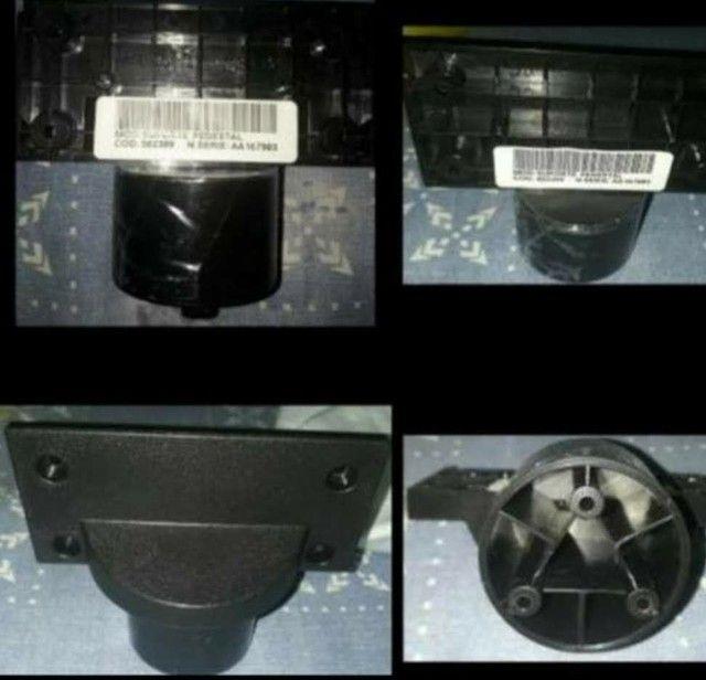 Novos!Um Conj Pedestal com Base de Vidro e Suporte - Semp Toshiba Dl3975i - 32 polegadas - Foto 3
