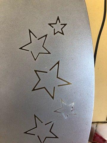 mural de fotos prateado com detalhe de estrela - Foto 2
