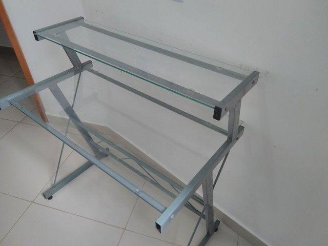 Mesa para computador e impressora - Foto 2