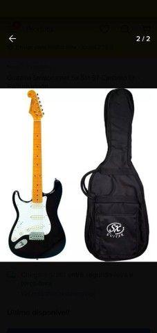 Guitarra Stratocaster Sx Sst 57 Canhoto Lh - Exclusividade
