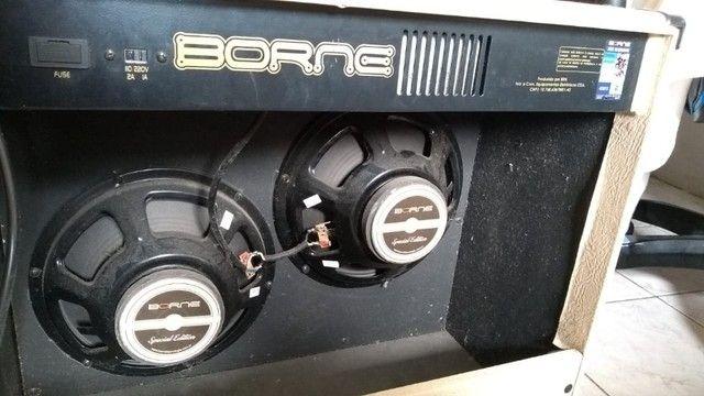 Amplificador 100w Borne Vorax 2100 - Foto 3