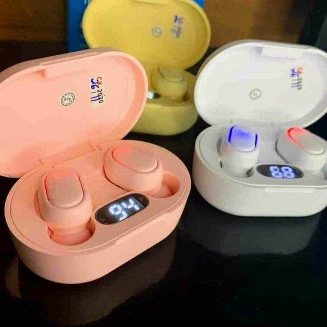Fone Ouvido Digital True Esporte Bluetooth 5.0 E6s Tws: