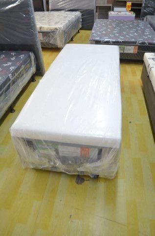 Cama box solteiro com 10 cm espuma - Novo - Foto 6