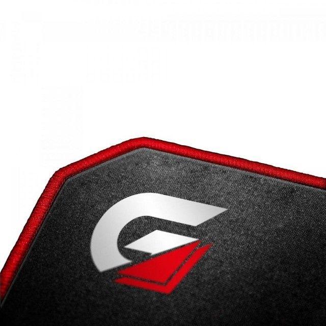 Mouse Pad G amer (440x350mm) Speed MPG102 Vermelho Fortrek  - Foto 4
