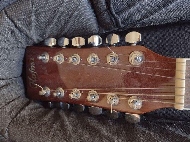 Violão Hofma 12 cordas com equalizador - Foto 2