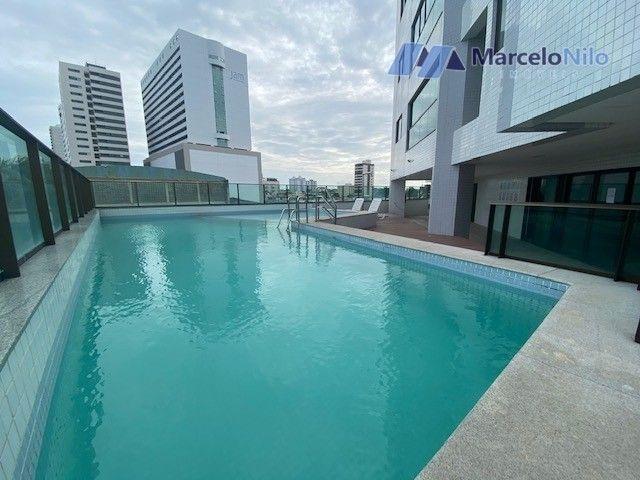 Apartamento na Beira-Mar de Olinda, 134m2, 4 quartos, 2 suítes, 3 vagas, Lazer Completo - Foto 16